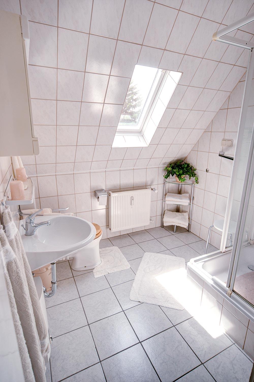 Ferienwohnung Göttingen - Das Badezimmer